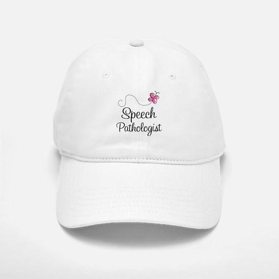 Speech Pathologist butterfly Baseball Baseball Cap