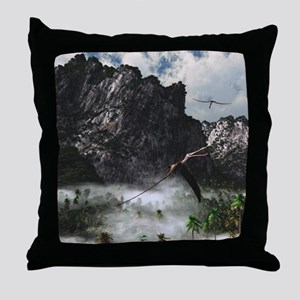 Anhanguera Throw Pillow
