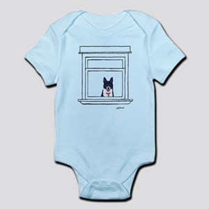 Border Collie in the Window Body Suit