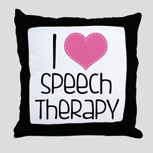 World's Best SLPA Throw Pillow