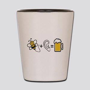 Bee Plus Ear Shot Glass