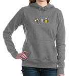 Bee Plus Ear Women's Hooded Sweatshirt