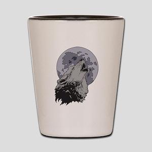 Howling Coyote Moon Shot Glass