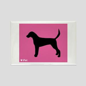 Foxhound iPet Rectangle Magnet