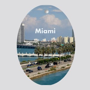 Miami Ornament (Oval)