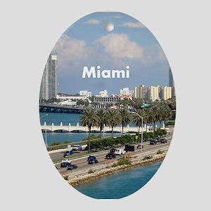 Miami Ornament (Oval)