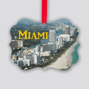 Miami Picture Ornament