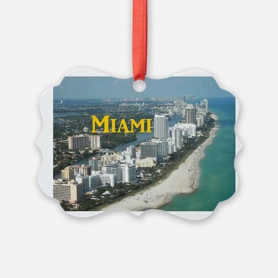 Miami Ornament