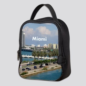 Miami Neoprene Lunch Bag