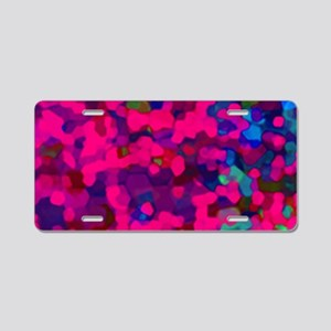 Glitter Dust 2 Aluminum License Plate