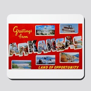 Arkansas Greetings Mousepad