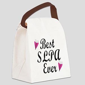 Best SLPA Ever Canvas Lunch Bag