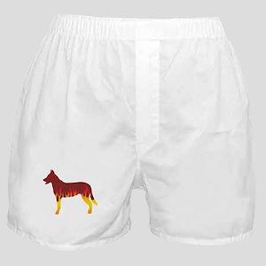 Beauceron Flames Boxer Shorts