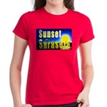 Sunset In Sarasota Women's Dark T-Shirt