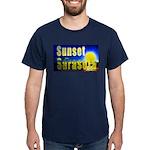 Sunset In Sarasota Dark T-Shirt