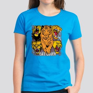 Wild Cat Lover Women's Dark T-Shirt