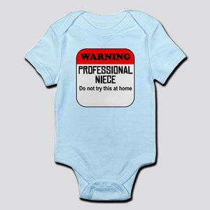 Warning Professional Niece Body Suit