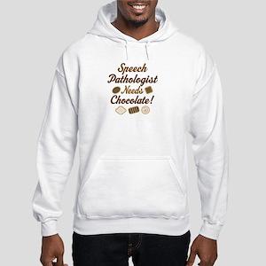 Speech Pathologist chocolate Hooded Sweatshirt