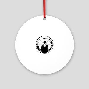 AXJ MEMBER Round Ornament