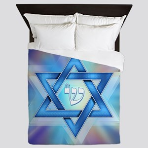 Radiant Magen David Queen Duvet