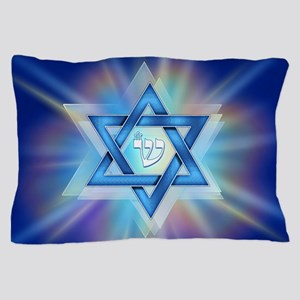 Radiant Magen David Pillow Case