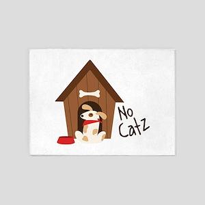 No Catz 5'x7'Area Rug