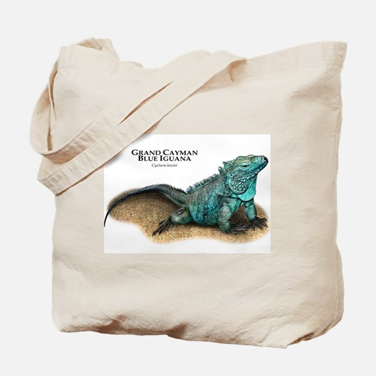 Grand Cayman Blue Iguana Tote Bag