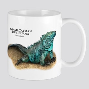 Grand Cayman Blue Iguana Mug