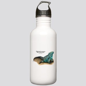 Grand Cayman Blue Igua Stainless Water Bottle 1.0L