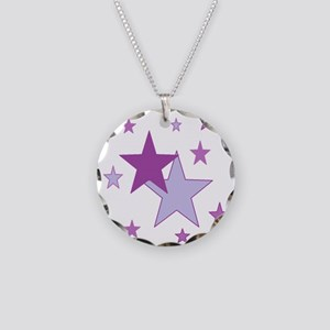 starry purple Necklace