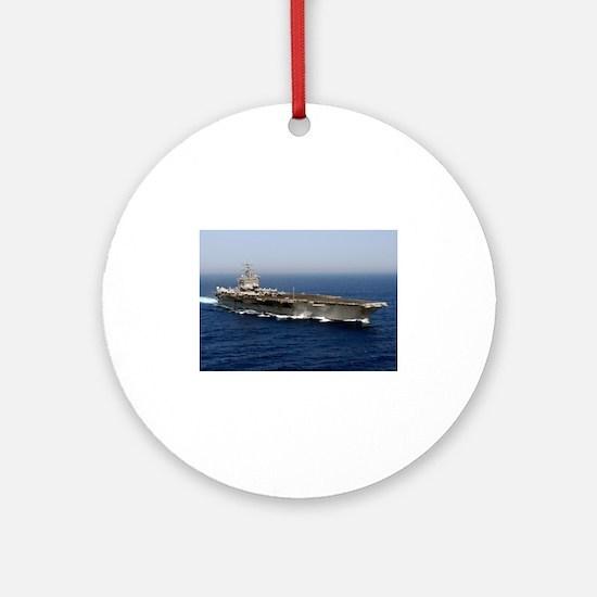 USS Enterprise CVN 65 Ornament (Round)