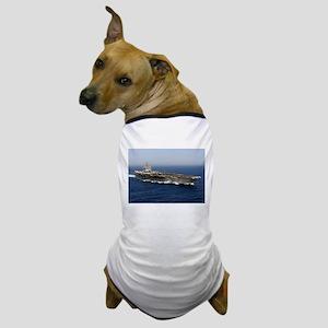 USS Enterprise CVN 65 Dog T-Shirt