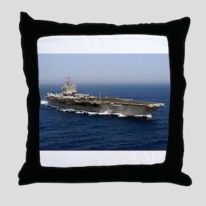 USS Enterprise CVN 65 Throw Pillow