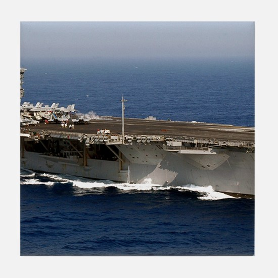 USS Enterprise CVN 65 Tile Coaster