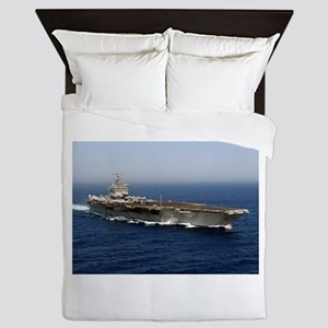 USS Enterprise CVN 65 Queen Duvet