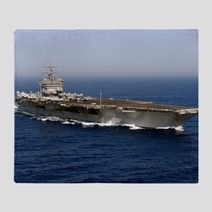 USS Enterprise CVN 65 Throw Blanket