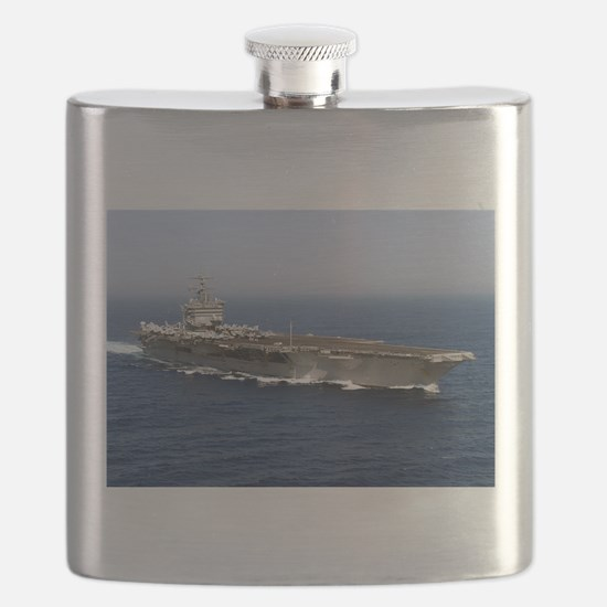 USS Enterprise CVN 65 Flask