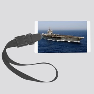 USS Enterprise CVN 65 Luggage Tag