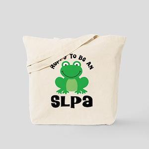 SLPA frog Tote Bag