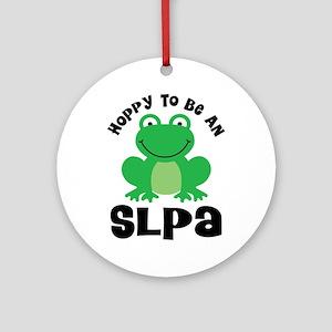 SLPA frog Ornament (Round)