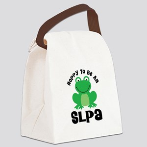 SLPA frog Canvas Lunch Bag