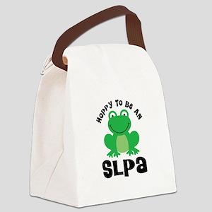 SLPA frog Canvas Lunch Bag