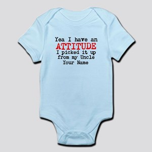 Attitude From My Uncle (Your Name) Body Suit
