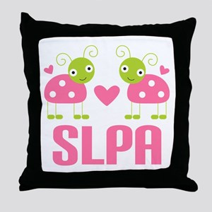 SLPA ladybugs Throw Pillow