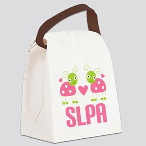 SLPA ladybugs Canvas Lunch Bag