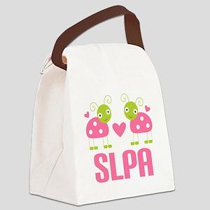 SLPA ladybugs Canvas Lunch Bag