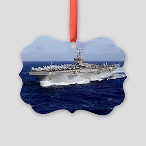 USS Abraham Lincoln CVN-72 Ornament