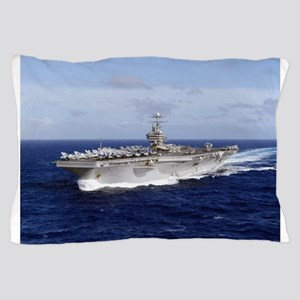 USS Abraham Lincoln CVN-72 Pillow Case