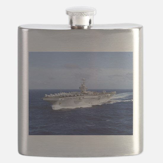 USS Abraham Lincoln CVN-72 Flask