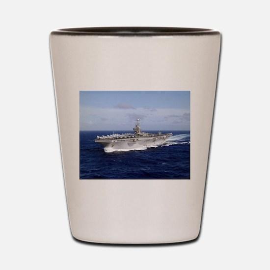USS Abraham Lincoln CVN-72 Shot Glass